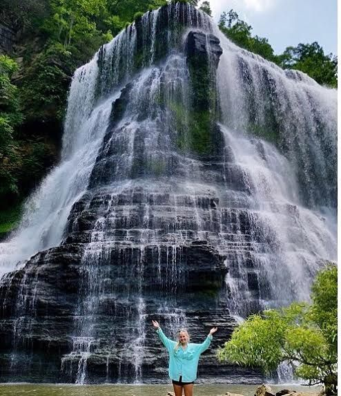 Burgess Falls is a beautiful waterfall in Sparta, TN