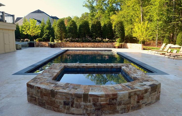17 best images about rectangle pools on pinterest for Pool design virginia