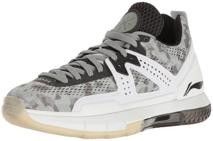 Way of Wade Men's Wow 5 Camo Basketball Shoe, Grey, Black, White, 7 M US