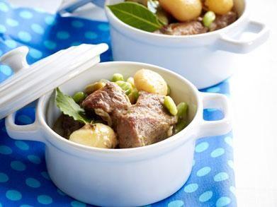 Lamsstoofpotje met aardappelen en tuinbonen (Libelle Lekker!)