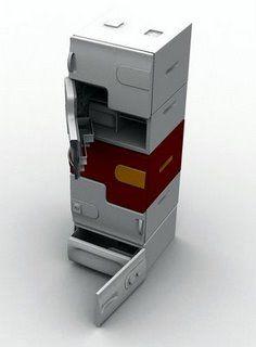 Unique Electrolux frigo per single casa