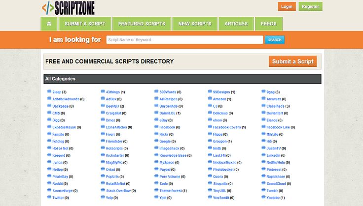 Download Hotscripts php clone scripts to make your own scripts portal where a variety of php, CGI, PERL and other scripts can be downloaded from.