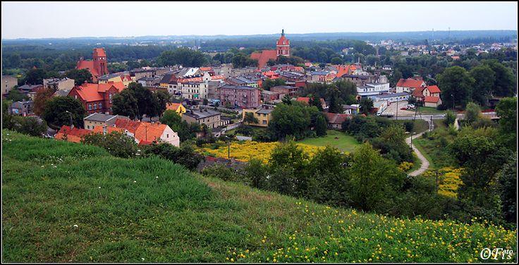 Panorama... - Golub-Dobrzyn, Kujawsko-Pomorskie  Golub-Dobrzyn is a town in central Poland, located on the both sides of the Drwêca River. Situated in the Kuyavian-Pomeranian Voivodeship (since 1999), it was previously in the Torun Voivodeship (1975-1998). It is the capital of Golub-Dobrzyñ County and has a population of 12,500.