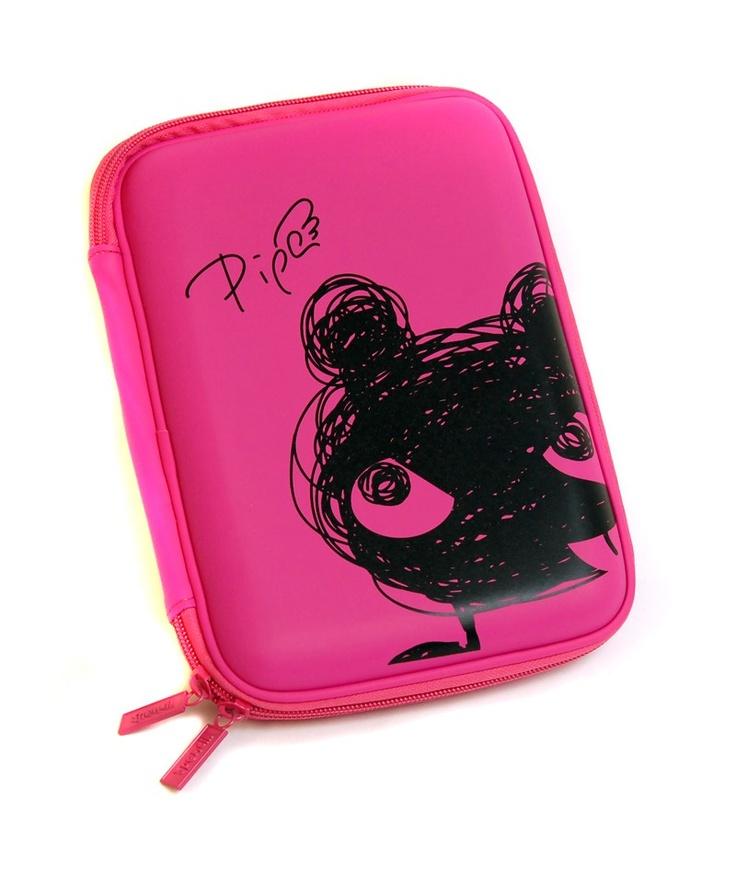 Scruffs Hardhead Pencil Case - Piper