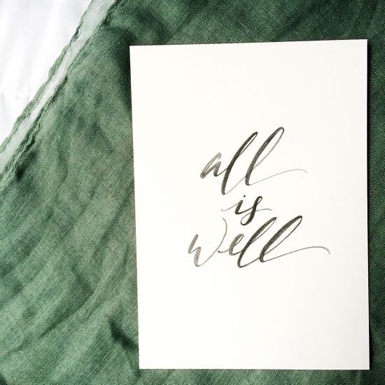 all is well (free print from kaitlynbouchillon.com)