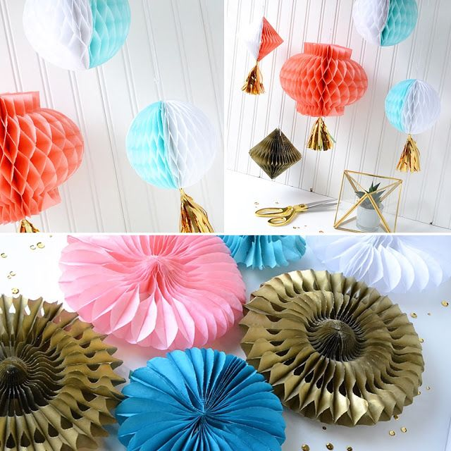 Diy Paper Party Decorations 323 best honeycomb paper crafts and popup cards images on