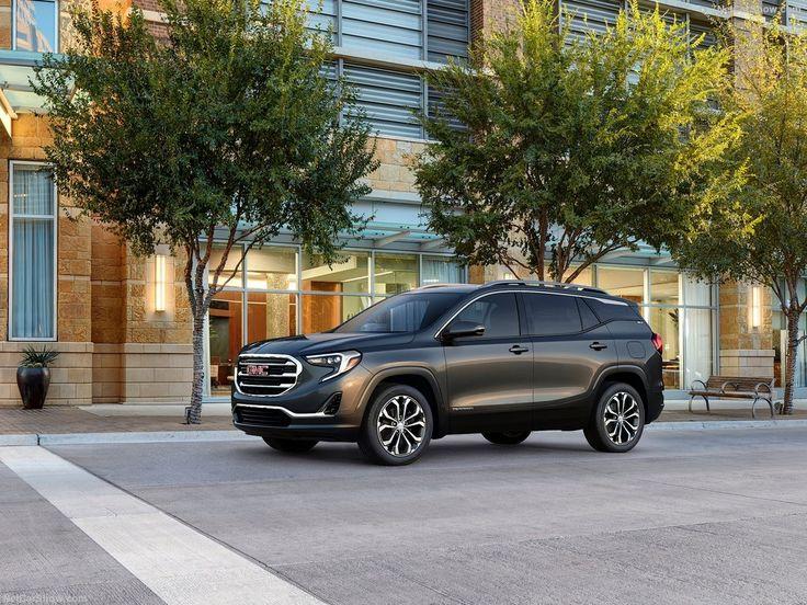La nouvelle version du GMC Terrain 2018 vient d'être dévoilée à Detroit au salon de l'automobile en première mondiale.