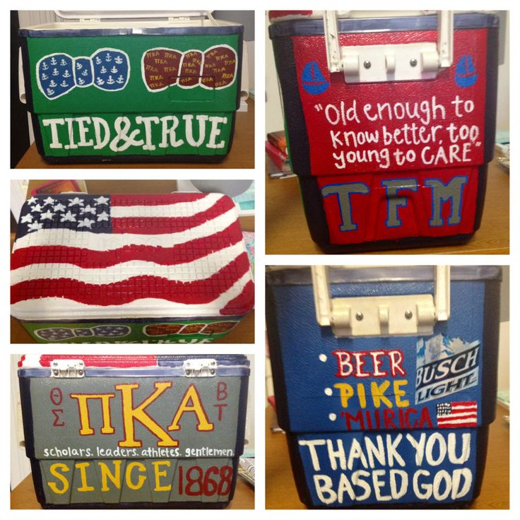 74 Best Cooler Ideas Images By Taylor Nail On Pinterest Frat