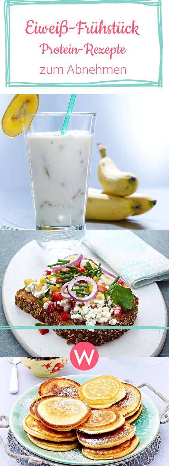 Eiweiß-Frühstück: Nimm mit diesen tollen Protein-Rezepten schon beim Frühstücken ab. #diät #abnehmen #rezepte