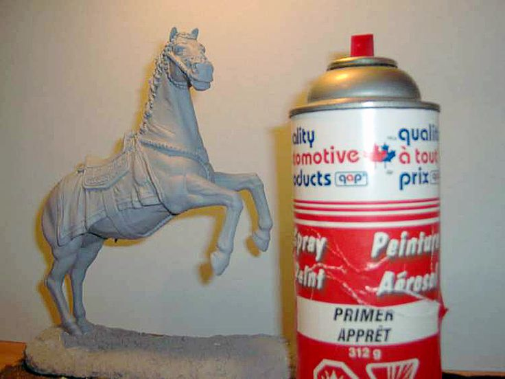 Historicus Forma :: Painting Horses - Part 1 by Ray