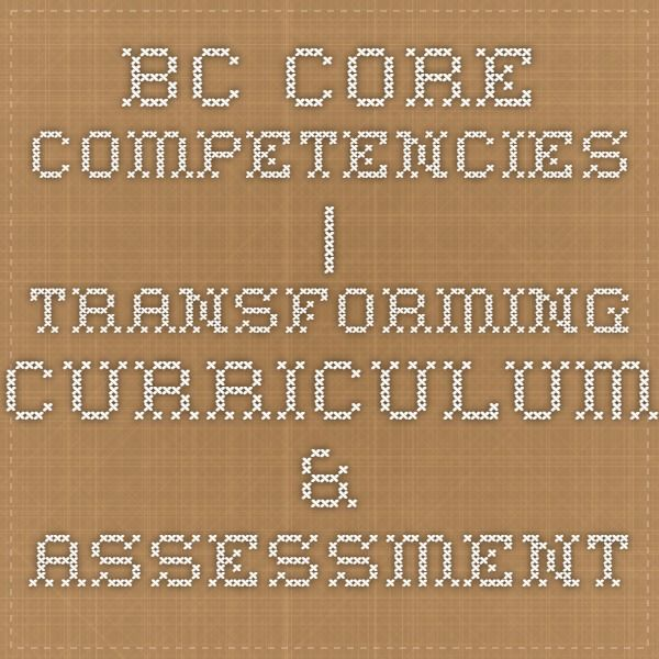 how to write core competencies
