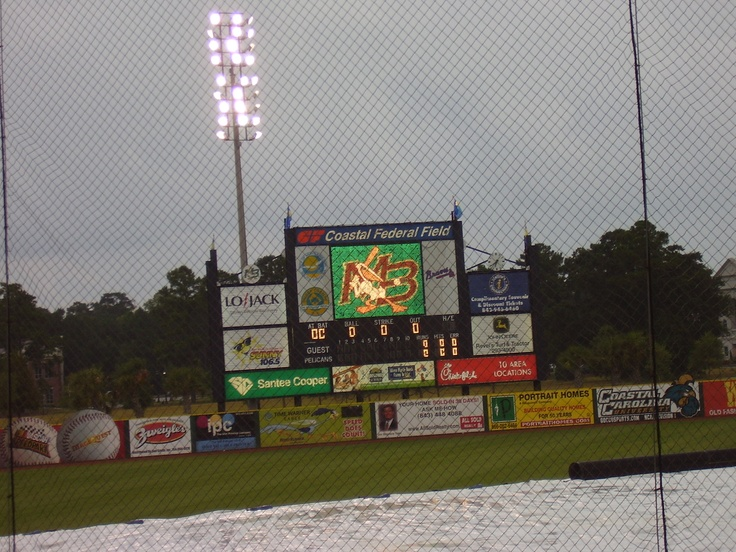 TicketReturn.com Field at Pelicans Ballpark (previously Coastal Federal Field, 2006). Home of the Myrtle Beach Pelicans