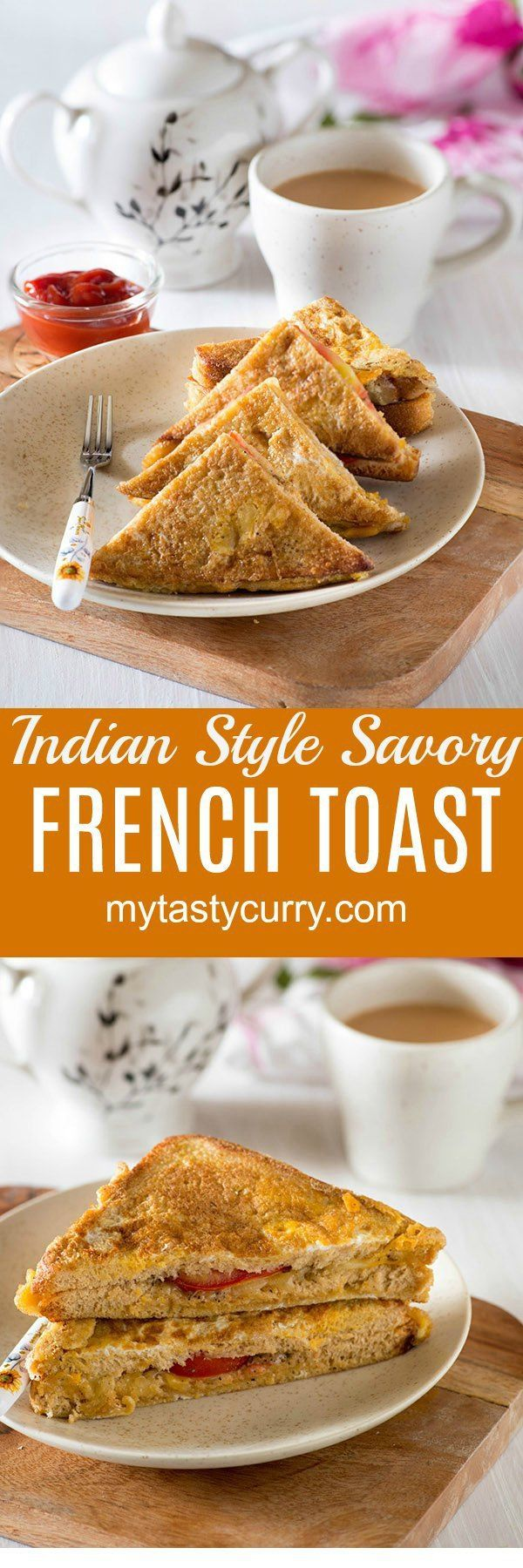 Indian French Toast is an Indianversion of the popularFrench toast. Quick and Easy Indian breakfast made with old bread and eggs is a delight to eat and especially so if you love eggs and bread for the breakfast
