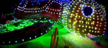 Sangyaw Parade of Lights, Tacloban City  http://exploretraveler.com/ http://exploretraveler.net