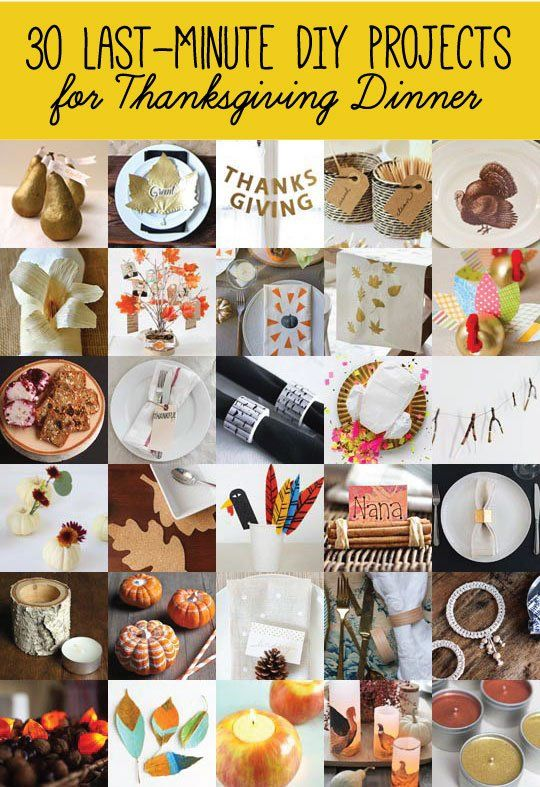 Best Thanksgiving Decorating Ideas Projects Images On