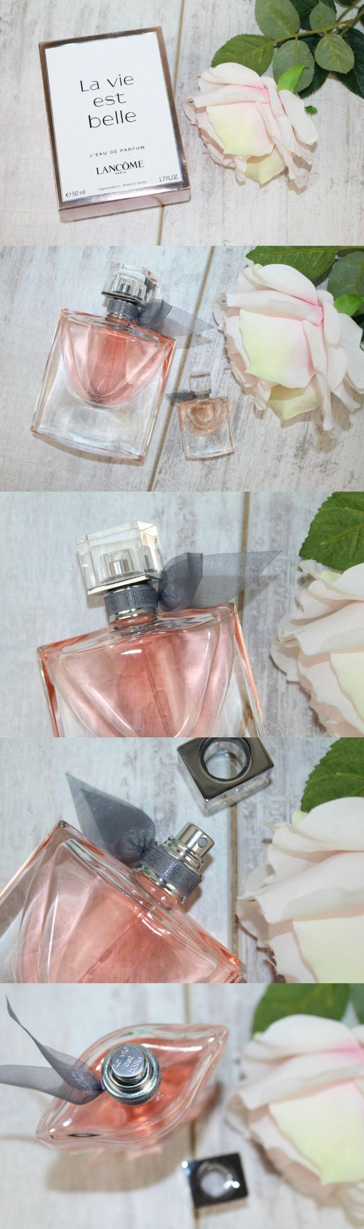 Lancôme La vie est belle Review & Photos - http://pinkparadisebeauty.blogspot.co.uk/2016/06/lancome-la-vie-est-belle-review-photos.html