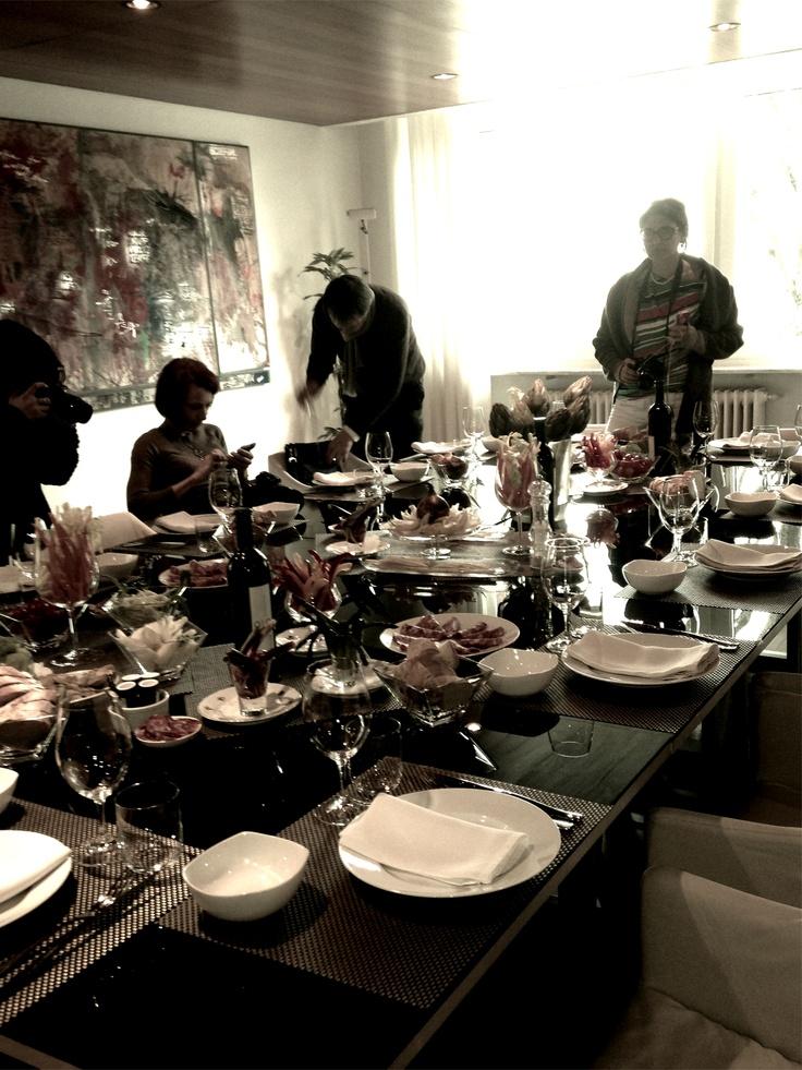 Tutti a tavola!!! Il pranzo by @FerrettoWalter