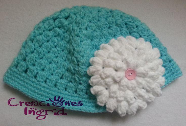 Gorro Bebita / Baby Crochet Hat