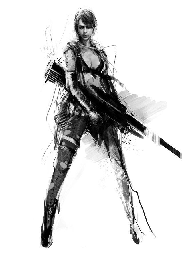 "muju's ""Quiet"" from Kojima Productions's ""Metal Gear Solid V"""
