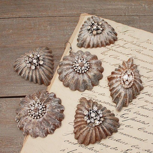 tart tin ornaments