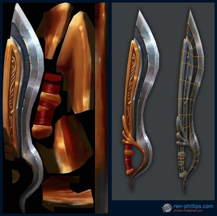 ArtStation - 디아블로 3 칼을, 르네 필립스