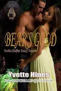 Free today ONLY at ARe! IR paranormal romance by Yvette Hines-grab it quick! Bear's Gold - All Romance Ebooks