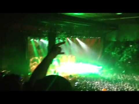 Night of the Living Dreads tour cover of *am I evil* (I was ground floor 4 rows or so from stage) This was Korn and Rob Zombie together.