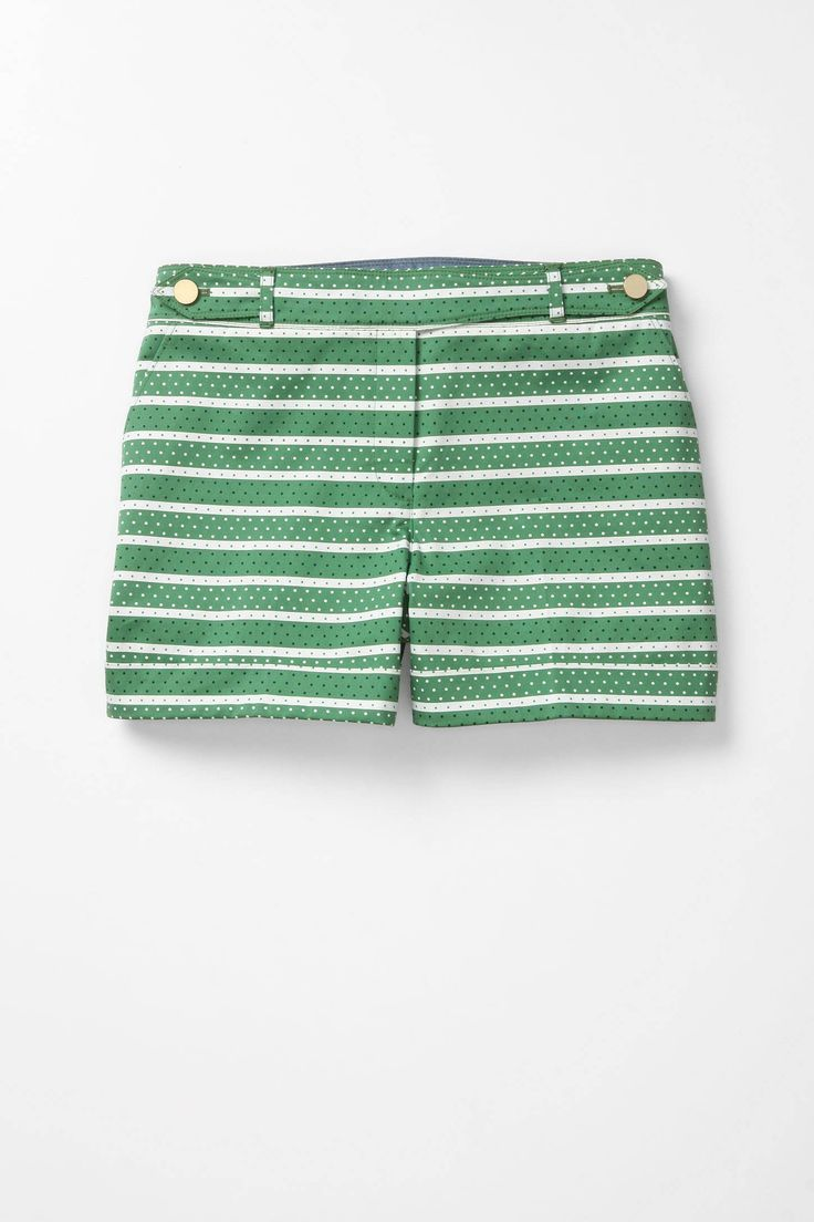 $88: Madison Shorts, Anthropology, Style, So Cute, Cute Shorts, Green Stripes, Green Shorts, Summer Shorts, Stripes Shorts
