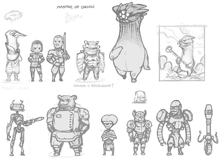 Character Design Master S Degree : Best master of orion images on pinterest s