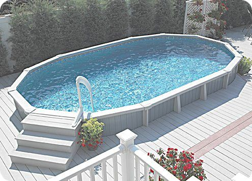Above Ground Pool Landscape Designs | above ground pool landscaping pictures » above ground pool ...