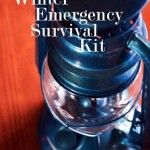 Winter Emergency Survival Kit - Emergency Preparedness Kit - 72 Hour