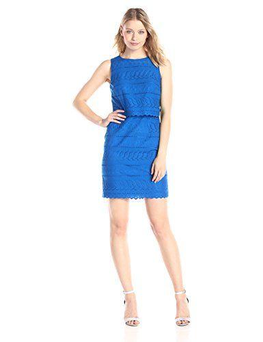 Ivanka Trump Women's Eyelet Dress, Ocean, 6 IVANKA TRUMP http://www.amazon.com/dp/B00WH59FKC/ref=cm_sw_r_pi_dp_4ny8vb1FDHNSD