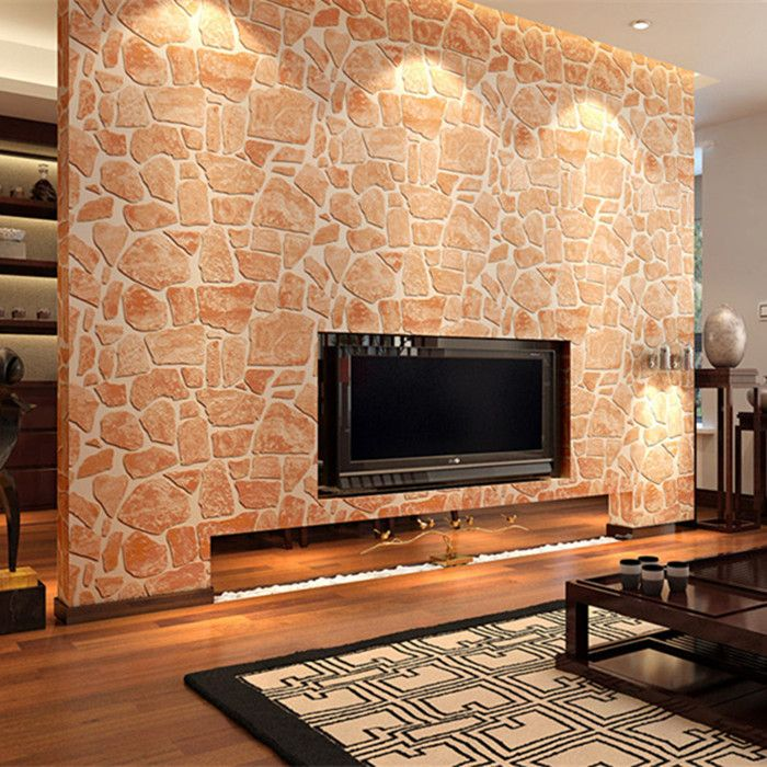 Cheap wallpaper art, Buy Quality wallpaper decorating ideas directly from  China wallpaper decor Suppliers: Retro stone wallpaper red brick 3 d wall  paper ...