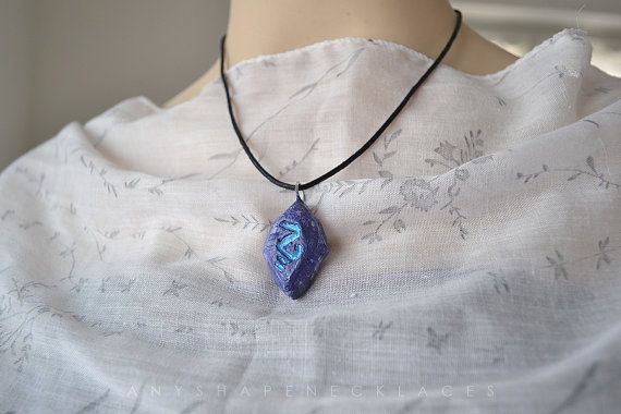 Catalyst the Protector League of Legends by AnyShapeNecklaces, €5.50 #catalysttheprotector #leagueoflegends #catalyst the protector #league of legends #necklace #lol #replica #cosplay #stone #anyshapenecklaces #etsy #handmade #magic