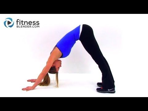 I think this is my new favorite workout site!    Total Body Toning Yoga Workout for Weight Loss - Full Length Video (Fitnessblender.com)