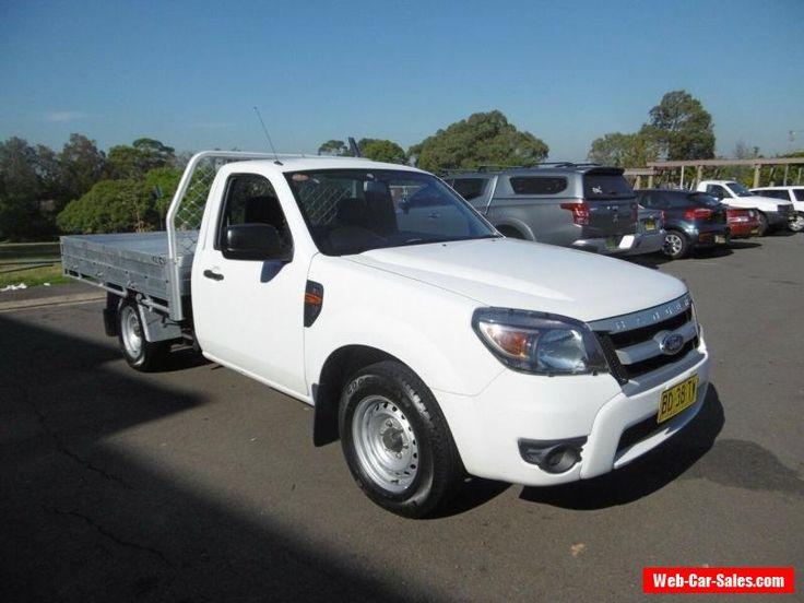 2009 Ford Ranger PK XL (4x2) White Manual 5sp M Cab Chassis #ford #ranger #forsale #australia