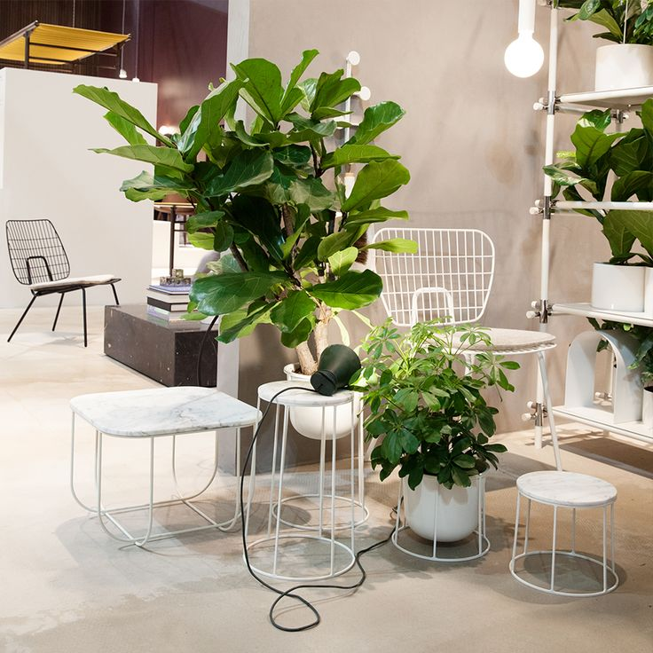 Menu favourites in white at the Milan Furniture Festival 2016
