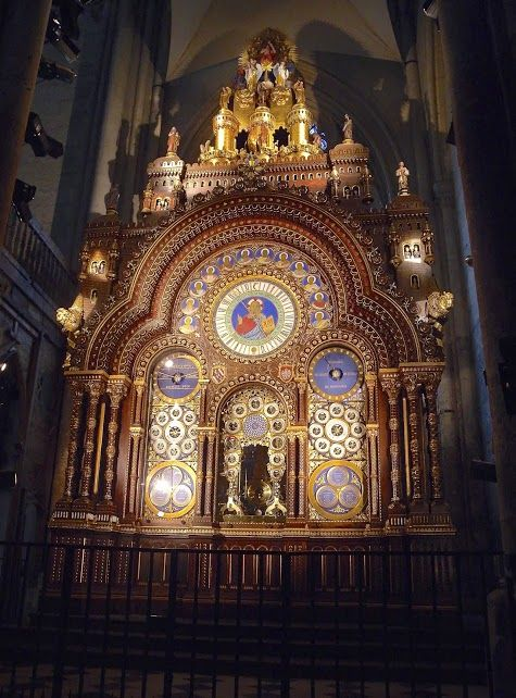 France. Beauvais.... the Astronomic Clock located in the Beauvais Cathedral and made by my great grand Father Auguste Lucien Vérité between 1865 and 1868