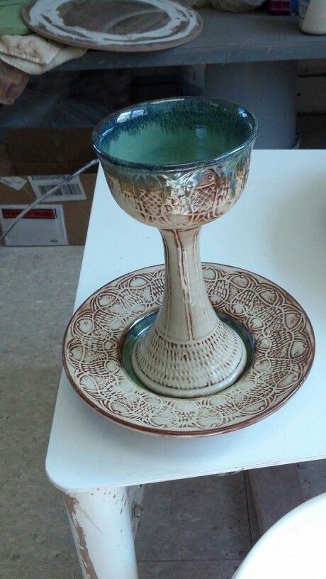 Chalice and paten/ communion set