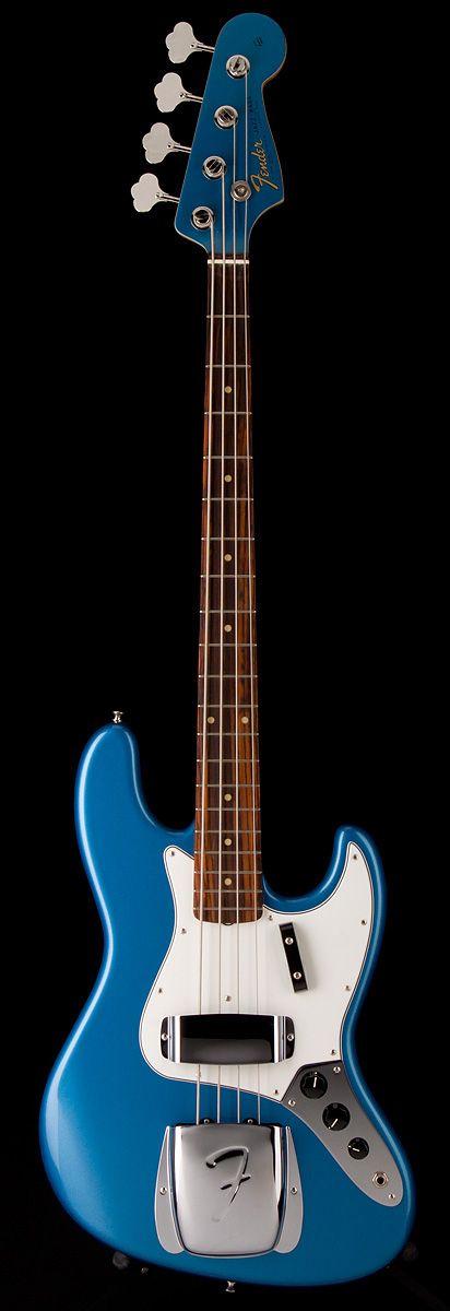 FENDER American Vintage 1964 J Bass in Lake Placid Blue   Guitar Center