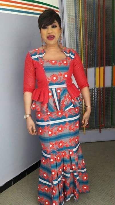 latest ankara skirt and blouse styles 2019: 25 Top selected most stylish ankara ... 5