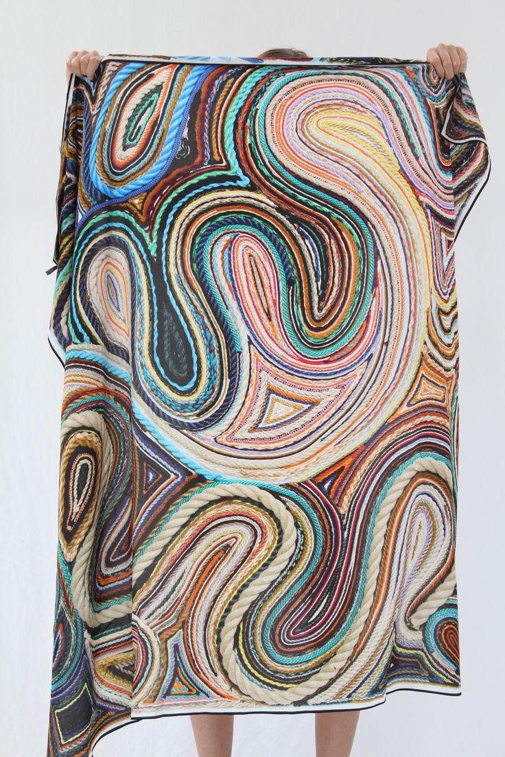 Modal Scarf - Taty-scarf 001 by VIDA VIDA SuAObIT