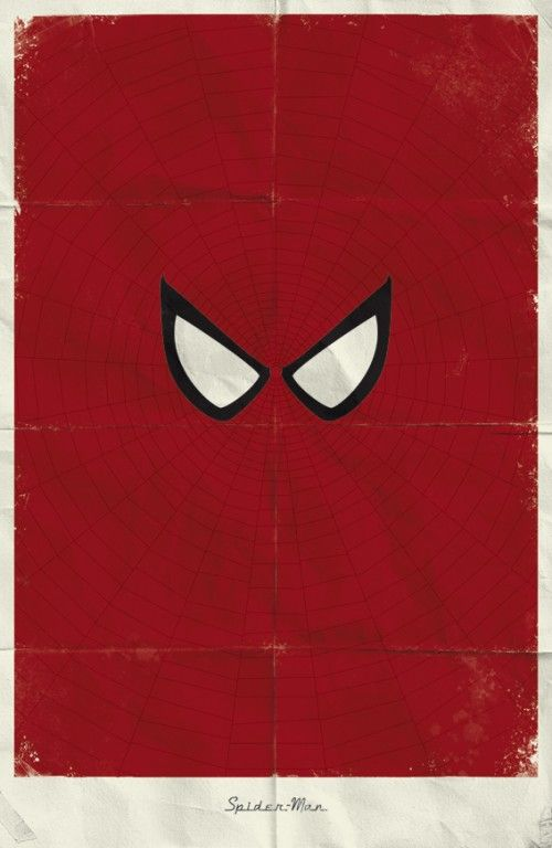 Minimal Marvel Posters by Marko Manev