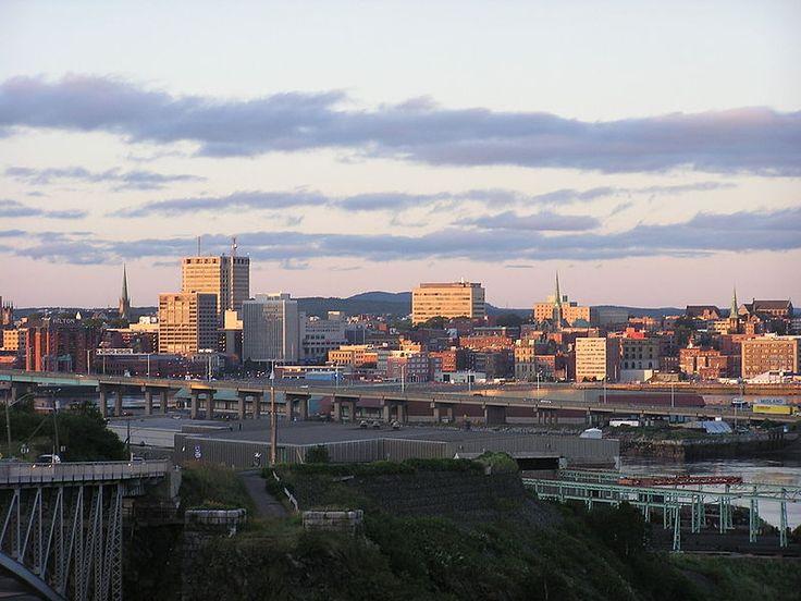 Uptown Saint John, New Brunswick