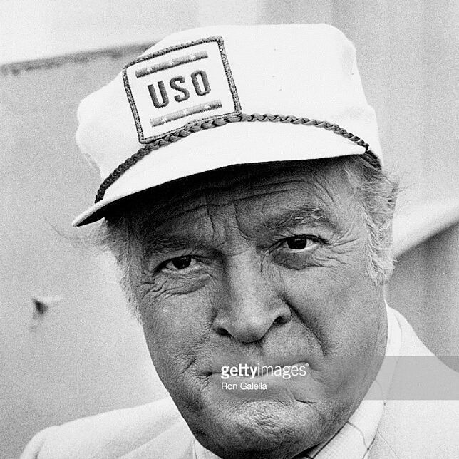 Being a veteran myself I thought it would be appropriate today for #VeteransDay to post a #fav photo of the #celebrity who did the most for our #servicemen in the #armedforces - Mr #BobHope (born May 29 1903-July 27 2003) #RIP. Thanks for your service to #America Bob and all #Veterans  Funnyman #Hope made 57 tours for the #USO between 1941 and 1991 and was declared an honorary veteran of the US Armed Forces in 1997 by act of Congress. Taken May 1979 aboard USS Iwo Jima NY harbor…