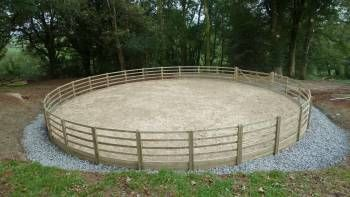 Wales round pen