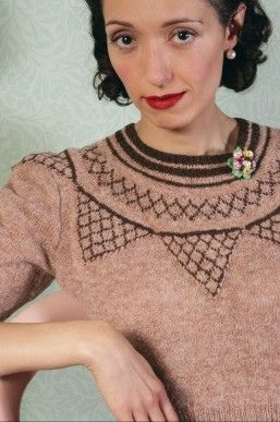 Fair Isle Jumper by Susan Crawford Vintage Knitting, via Flickr
