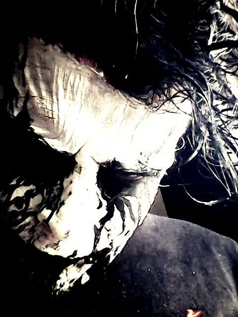 Black Metal Corpse Paint by W