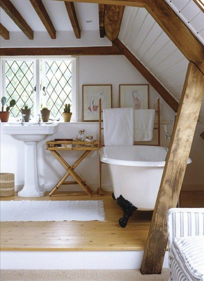 Ausgefallene Designideen Fur Ein Landhaus Badezimmer Archzine Net Badezimmer Renovierungen Badezimmer Innenausstattung Badezimmer Dachschrage