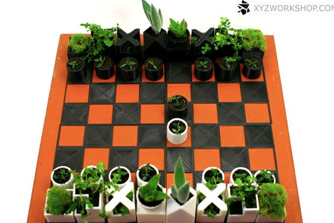 Jumpstart Your Day: Mini Planter Chess Set Real Living Philippines
